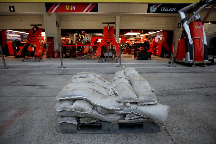Bij het team van Vettel ligg