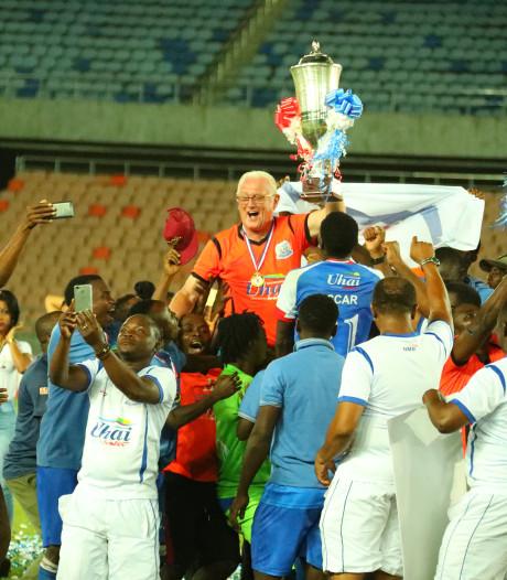 'Mister FC Den Bosch' is nu held in Afrika