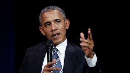 """Obama reageert op Trumps migrantenbeleid: """"Zijn wij een land dat kinderen uit de armen van hun ouders rukt of houden we hen bij elkaar?"""""""