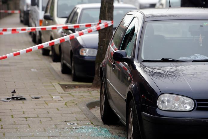 Ook een andere auto raakte beschadigd.