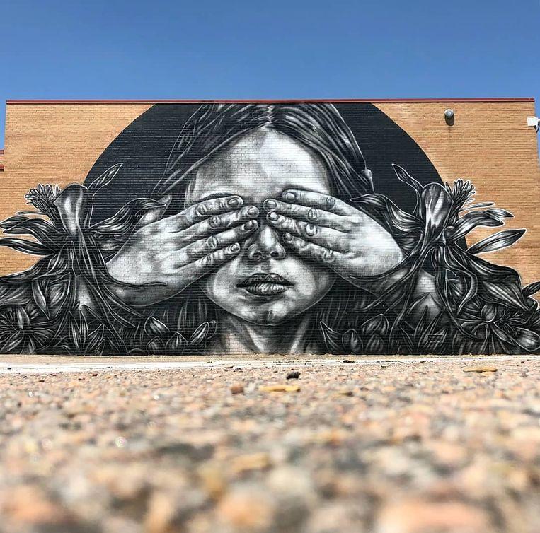 Een voorbeeld van een werk van Paola Delfin.