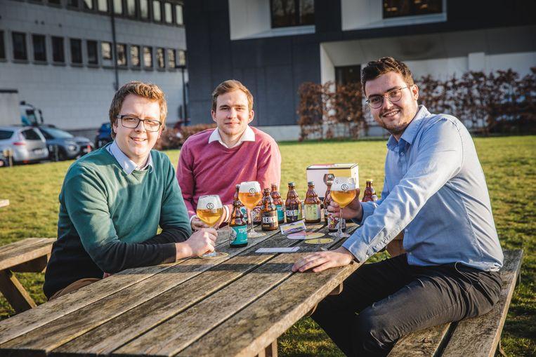 Wout, Kasper en Miel willen de grootste brouwerij van Gent bouwen.