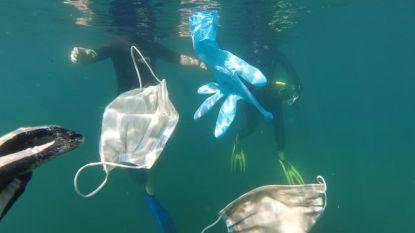 Milieuorganisaties slaan alarm om 'corona-afval' in oceanen