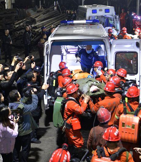 Zestien doden na gaslek in Chinese mijn