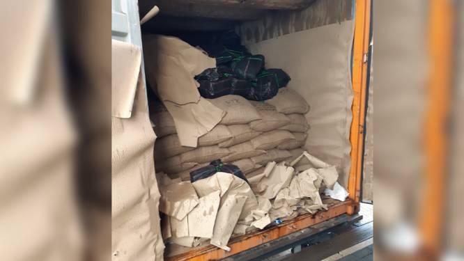 1,4 ton cocaïne in container met cacao onderschept op weg naar Antwerpen