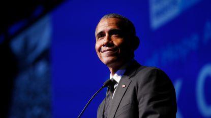 """Barack Obama deelt zijn favoriete boeken, films en liedjes van 2018: """"Het boek van mijn vrouw is uiteraard mijn favoriet"""""""