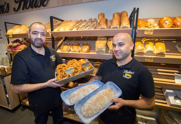 Mohamed El Allaoui en Moussa Ghait (rechts). Archieffoto uit 2017.