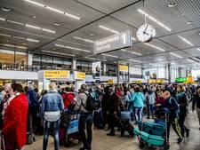 Ook komende dagen heel druk op luchthaven Schiphol