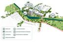 Het plan Hartje Barrier voor winkelcentrum Ardèchelaan en wooncomplex Cantershoef in Achtse Barrier, Eindhoven.