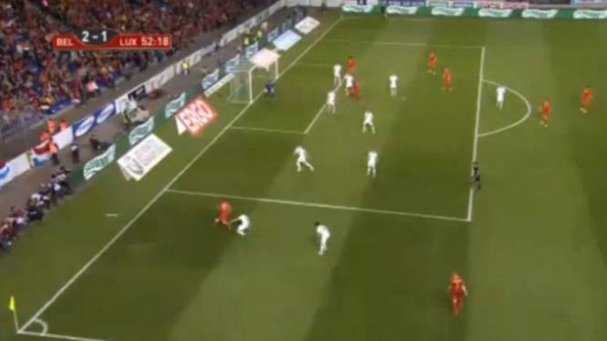 Januzaj maakt meteen indruk tijdens debuut voor België