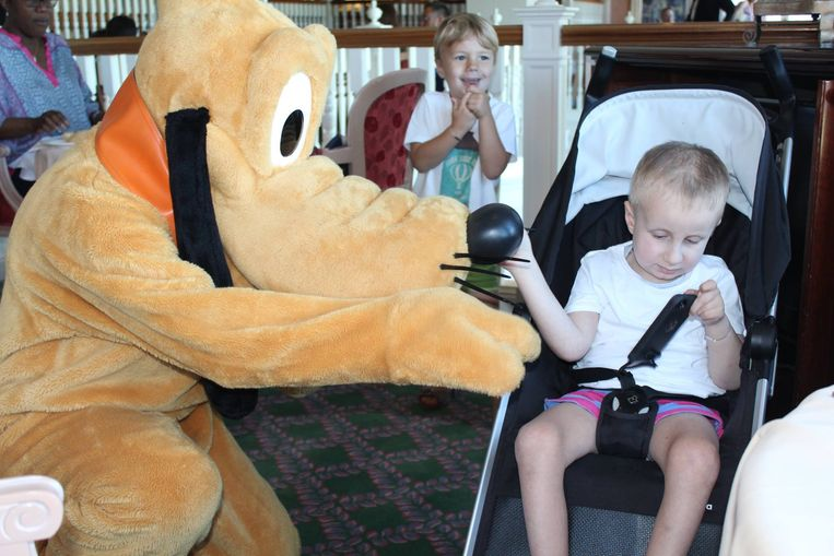 SuperGilles was onlangs op vakantie in Disneyland