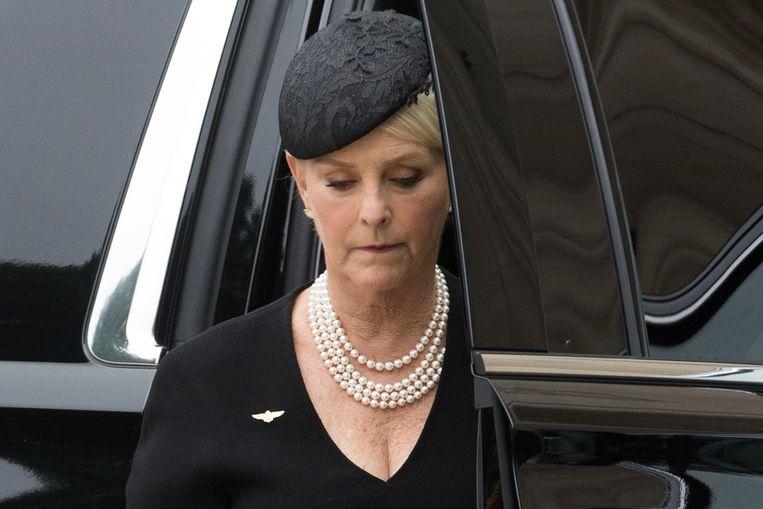 Weduwe Cindy McCain.