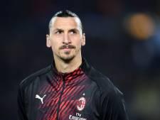 Vrees voor zware blessure Zlatan Ibrahimovic