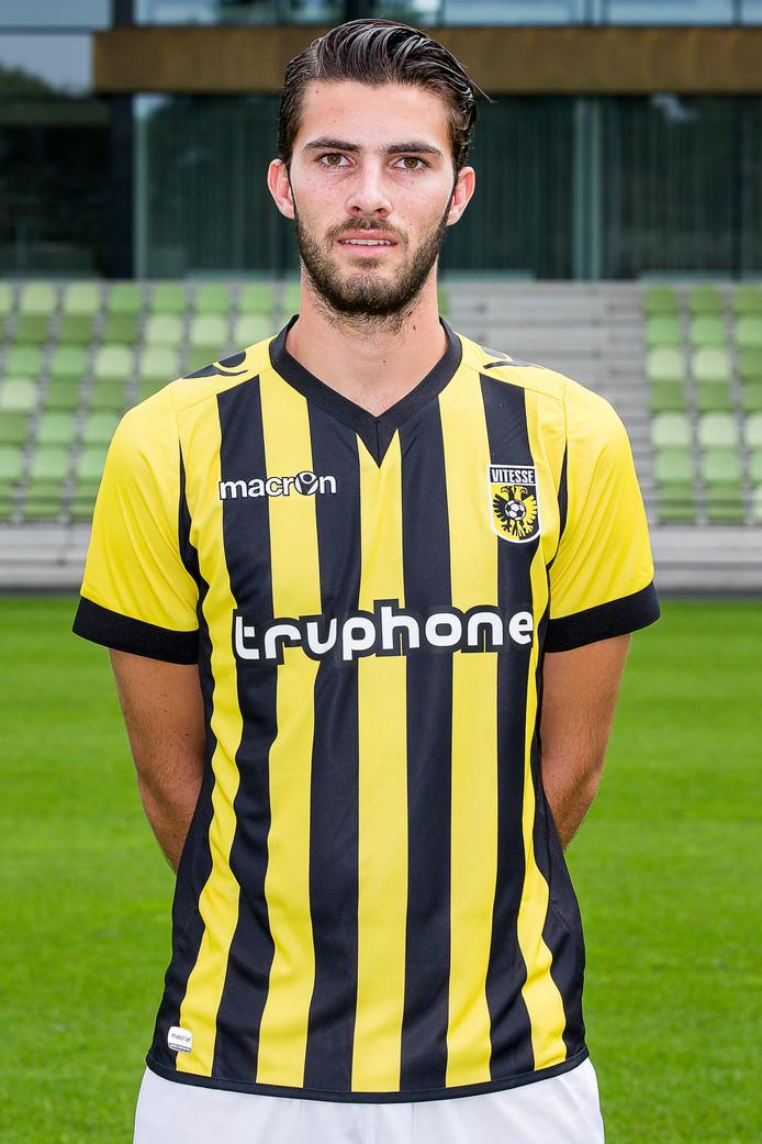 Gino Bosz: voor het eerst bij de selectie.