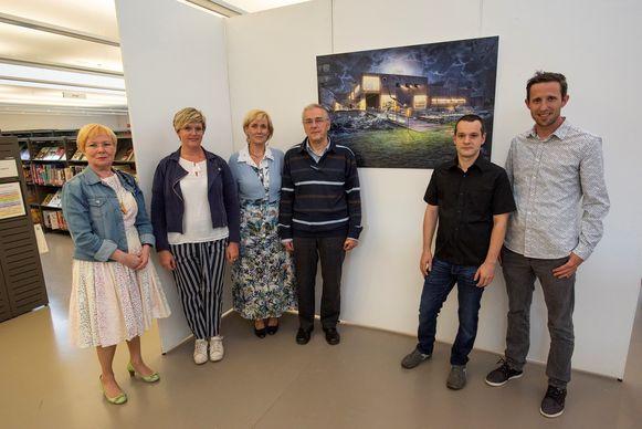 Tentoonstelling 2X kunst in bibliotheek De Letterbeek