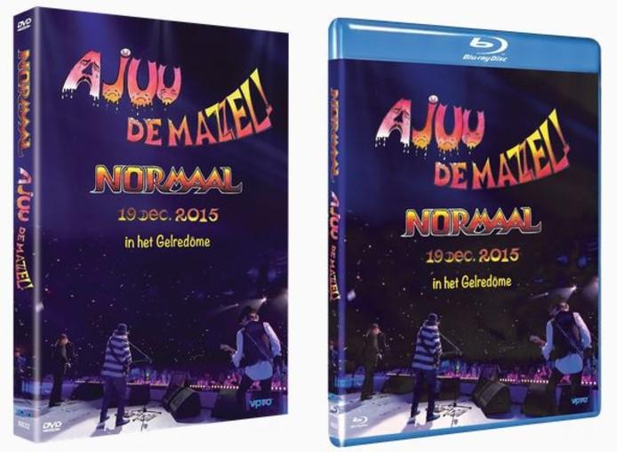 De registratie van het afscheidsconcert van Normaal is te krijgen als dvd en Blu-ray Disc.