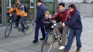 Stap voor stap leren fietsen tijdens fietslessen voor volwassenen