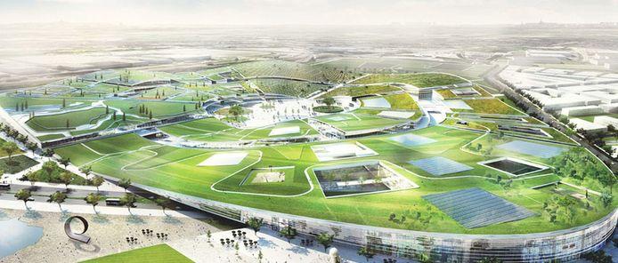 Quatre bureaux d'architecture se disputent la réalisation du projet.