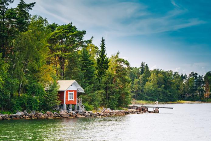 Vakantiehuisje aan het meer
