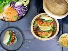 Wat Eten We Vandaag: Bao buns met jackfruit in barbecuesaus
