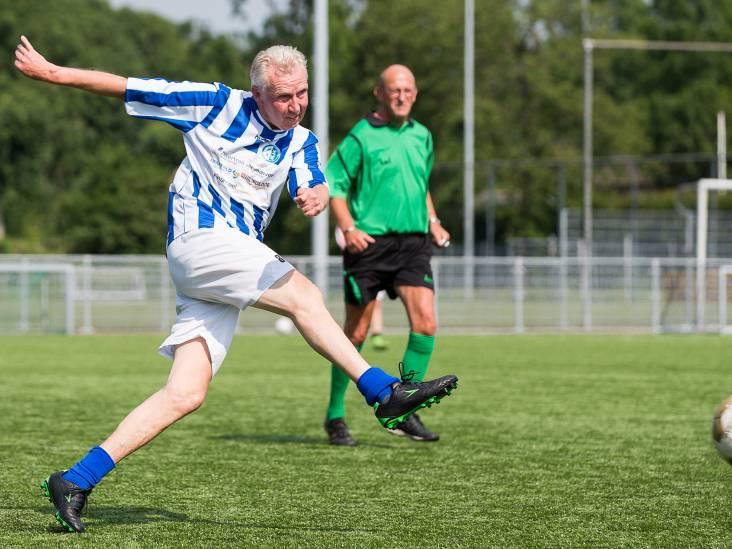 Schoonhoven zwaaide clubicoon Ap van As (60) uit met afscheidsduel