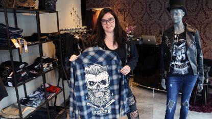 Ilona kleedt metalfan van top tot teen