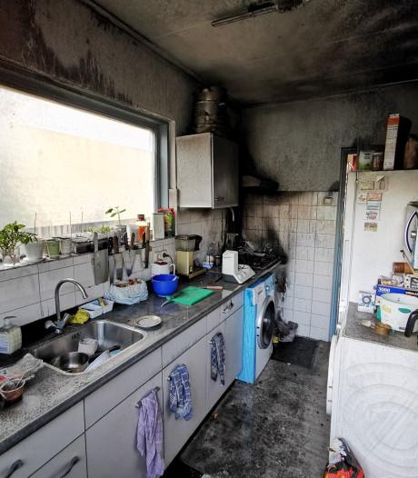 Woning Zevenaar onbewoonbaar door korte maar hevige keukenbrand