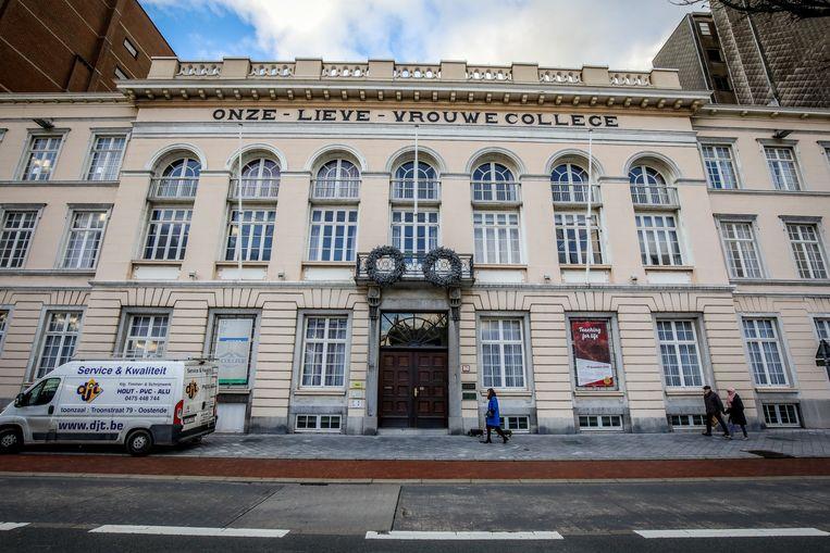 Het Onze-Lieve-Vrouwecollege in de Vindictivelaan in Oostende