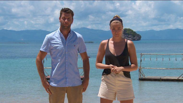 Bartel Van Riet en Geraldine Kemper presenteren 'Expeditie Robinson'