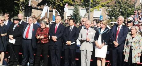 Prins Charles in Driel voor herdenking Market Garden
