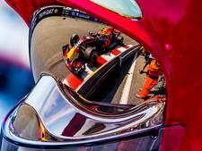 Max schampt vangrail in Monaco