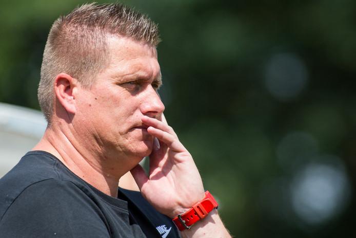 Trainer Camiel Jager van AWC