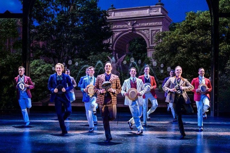 De musical Hello, Dolly!, met centraal Freek Bartels als Cornelis Hekkel Beeld null