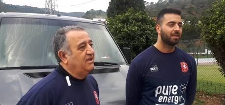 Materiaalman FC Twente en zijn zoon waren drie dagen onderweg naar Spanje