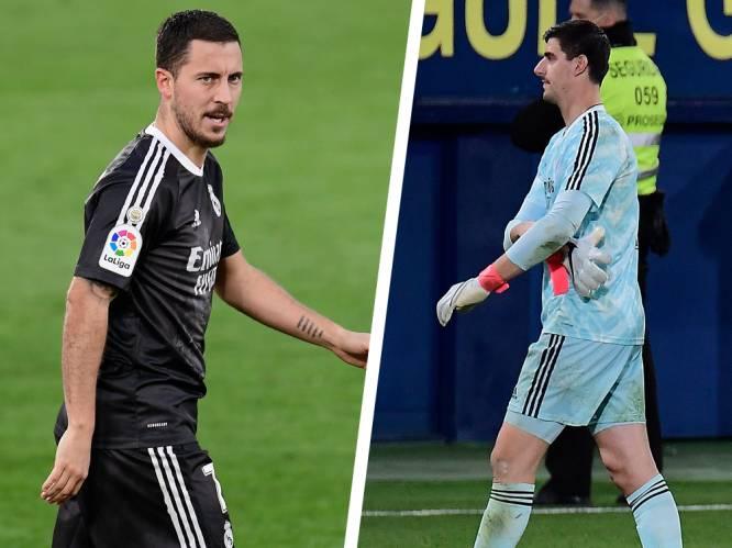 Rotweek voor Courtois, maar het is Hazard die kritiek krijgt in Spanje