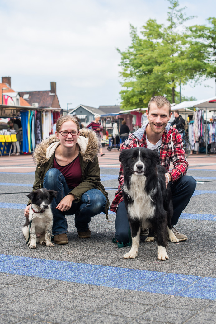 Betuwenaren Zetten, Petra van Rooijen met vriend Raymon en 2 honden.