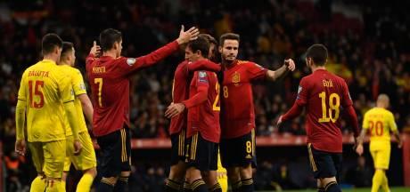 Spanje sluit kwalificatie in stijl af, Guidetti scoort bij winnend Zweden