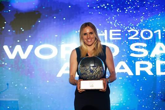 Marit Bouwmeester is zeilster van het jaar.