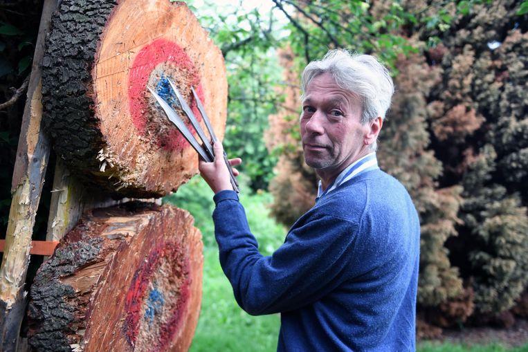 Messenwerper Georges Cuvillier (57) uit Herent