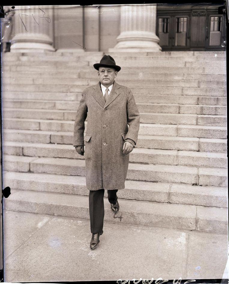 Presidentskandidaat Alf London in 1935. Beeld null