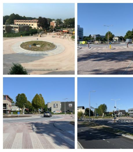 Zwarteweg in Leusden heeft facelift ondergaan en is weer open voor verkeer