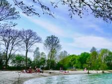 Nieuwe strandjes Tijningenplas Zaltbommel nu al succes