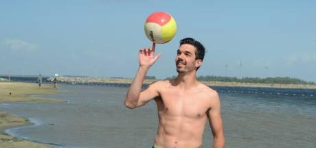Lennen Jonker, volleyballer van Forza die triatleet wordt