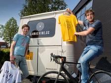 'Het is leuk als bekende wielrenners onze kleding dragen'