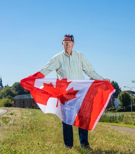 Edwin uit Hattem geëerd door Canadese helden