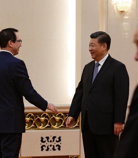 Deadline voor VS en China nadert, gesprekken volgende week hervat