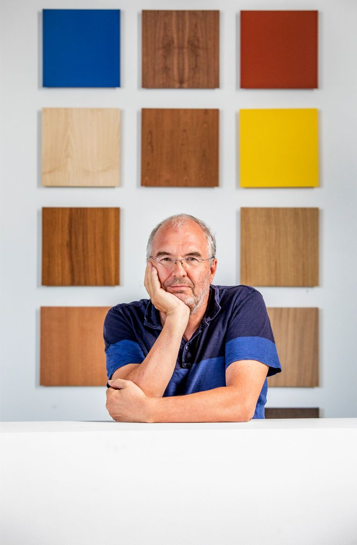 Rudy Stroink, nu directeur van meubelfabrikant Pastoe in Houten.  Beeld Raymond Rutting