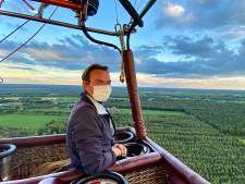 Sky Ballonvaarten zoekt het in Tilburg ook aan de grond, met huisjes en horeca