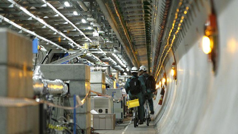 De deeltjesversneller van het CERN.