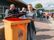 Afval scheiden nog niet hoog op prioriteitenlijst sportclubs in Hardenberg